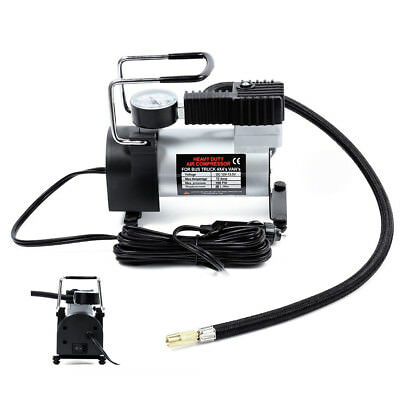 Heavy Duty Portable 150PSI Air Compressor Pump 12V Electric Car Tyre Inflator