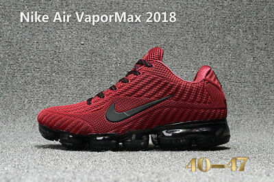 RUN RUNING AIR VAPOR MAX2018 Athletic sport shoes RED for men