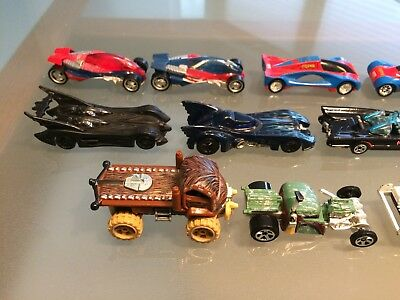 Hot Wheels/Majorette Film-TV Konvolut: Star Wars, Batman, Marvel, Knight Rider