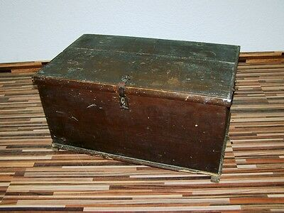 great old wooden box, Wood Chest Box, Treasure Chest Wood Chest Travel Cases
