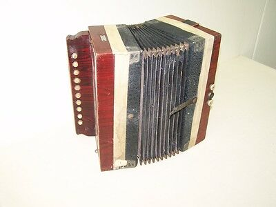 Small Old Accordion, Conzertina, Accordion, Accordion Top Decoration