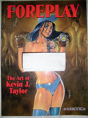 Art book of kevin j. taylor - foreplay