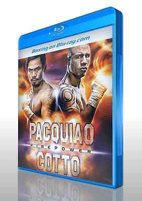 Manny Pacquiao vs. Miguel Cotto on Blu-ray
