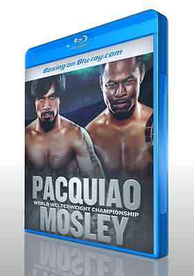 Manny Pacquiao vs. Shane Mosley on Blu-ray