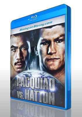 Manny Pacquiao vs. Ricky Hatton on Blu-ray