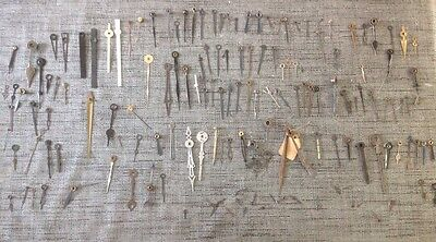 Antique Clock Hands Job Lot Approx 135 Assorted Pairs And  Singles