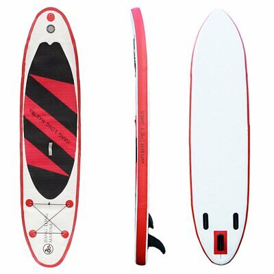 126x31.5x5.9 Inch Inflatable PVC Stand Up Paddle Board Exercise Training Surfboa