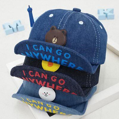 Infant Baby Hat Cowboy Toddler Summer Hiphop Baseball Cap Adjustable Kids Hat