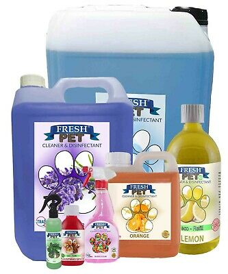 Fresh Pet Kennel Dog Disinfectant Fresh Cleaner Deodoriser Animal Cattery Odour