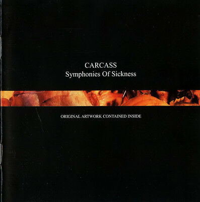 Carcass – Symphonies Of Sickness RARE COLLECTOR'S CD! BRAND NEW! FREE SHIPPING!