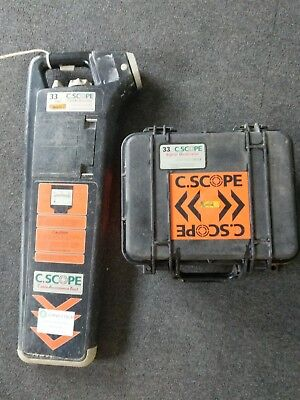 C.Scope Cable Avoidance Tool/ Cable Detector / CAT Scan  33 kHz and generator