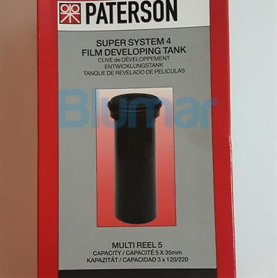PATERSON SUPER SYSTEM 4 MULTI REEL 5 DEVELOPING TANK PTP 117- FAST shipping