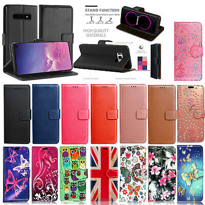 FOR Samsung Galaxy S9 S8 S7  S6 S5 Plus NEW LEATHER WALLET BOOK Phone Case Cover