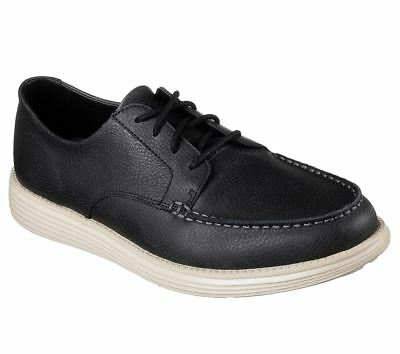 SKECHERS MEN'S RELAXED Fit Status Lerado Casual Shoes in