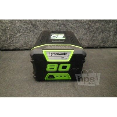 Greenworks GBA80200 Battery Pack, 80V Lithium, 144Wh, 2Ah, 30 Min Charge Time