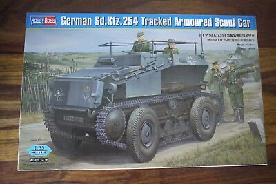 HobbyBoss 82491 German Sd.Kfz.254 Tracked Armoured Scout Car in 1/35