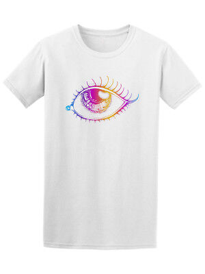 Cool Colorful Eye Graphic Tee - Image by Shutterstock