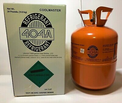 R-404A  - 404a - R404- R404a - Refrigerant 24 LB Cylinder  - MADE IN USA