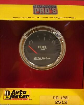2 Inch Electrical Fuel Level Gauge Autogage by AutoMeter 2512