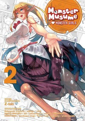 Monster Musume: I Heart Monster Girls: Vol. 2 by Okayado 9781626923232