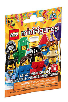Lego Minifigures -  Series 18 Party  - Choose your Minifigure - 71021 - NEW