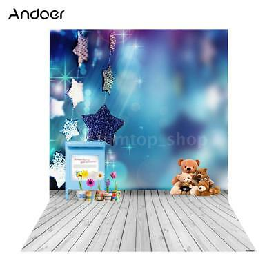 Andoer 1.5*2m Big Photography Background Backdrop Classic Fashion Wood F3O4
