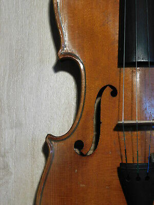 gute alte 4/4 Geige Violine violon バイオリン violin STRADIUARIUS fiddle Germany 1930