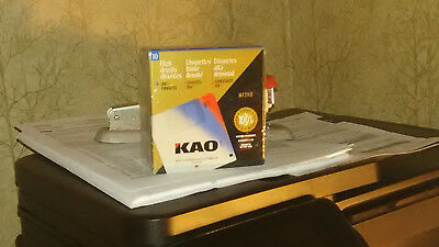 "KAO MF2HD 2HD Diskettes MF 2HD 3.5"" 10 Pack High Density IBM Formatted # 14"