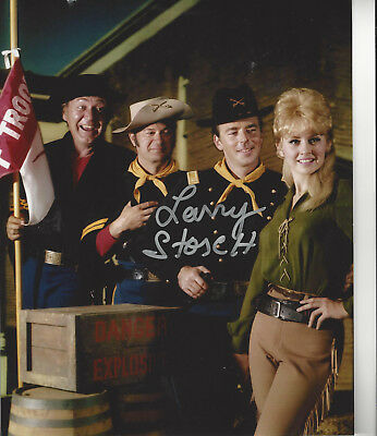 F Troop Agarn Larry Storch autographed 8x10 photo with Cast great photo