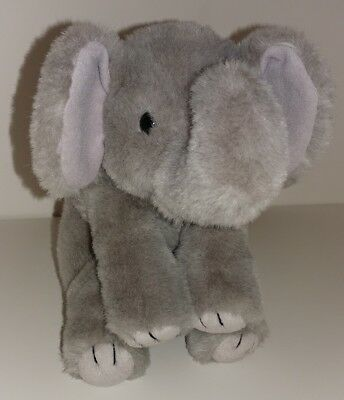 Ty Beanie Buddies Spout Grey Elephant Plush Stuffed Animal 12