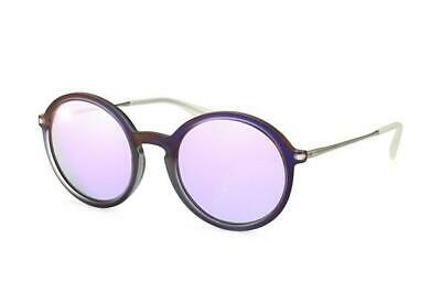 92579ee9ab NEW Ray Ban RB4222 61684V 50 Shot Violet Rubber Grey Mens Sunglasses Glasses
