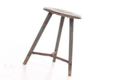 1x Old Bemeta Stool Art Deco Workshop Stools Vintage Bauhaus Design Chair