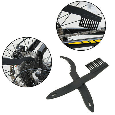 2PCS Bicycle Chain Clean Brush Scrubber Tool Wheel Wash Cycling Equipment