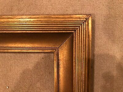 Antique 30x25 Large Gold Newcomb Macklin Style Whistler Style Picture Frame F