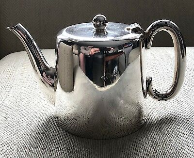 Connaught Hotel Silver Teapot