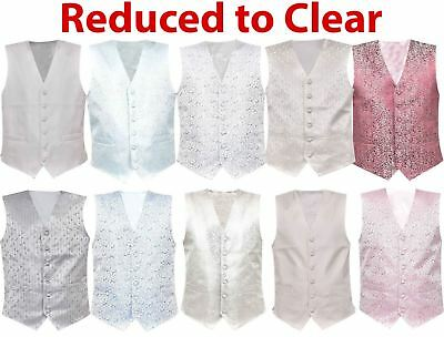 Mens Waistcoat  Business Tops Suit Vest  Wedding Formal Casual Print Coat