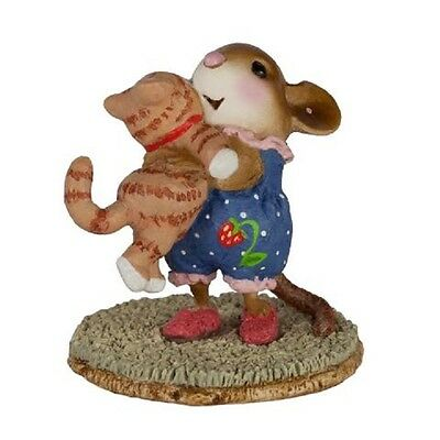 Wee Forest Folk M-355 Kitty Cuddle - Tabby Kitty