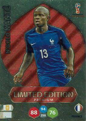 Panini Adrenalyn XL World Cup 2018 Russia WM Limited Edition N`golo Kante