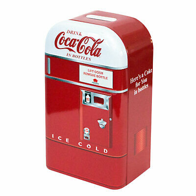 Coca-Cola White Hood Coin Bank Red
