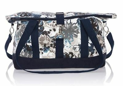 NWT Thirty One Fold Over Weekender Brushed Bloom