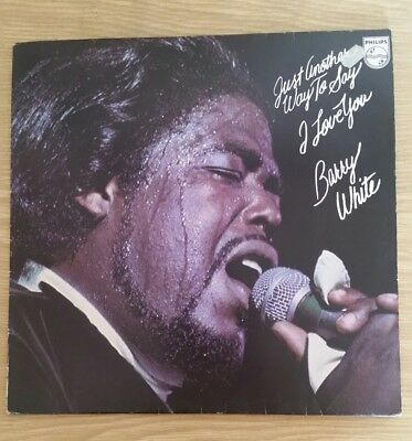 """LP Barry White """"Just another was to say  I love you"""""""