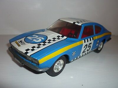 ALTES BLECHAUTO FIAT DINO RALLY VERSION °° Friction °° JOUSTRA °° MADE IN FRANCE