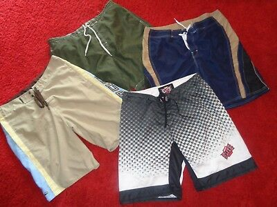 Lot Of Board Shorts Swim Trunks Beach Rays Rip Curl Summer Clothes Mens Size Xl