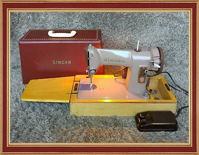 ➡ Singer 185K Heavy Duty Electric Sewing Machine Top Condition | FREE Shipping*
