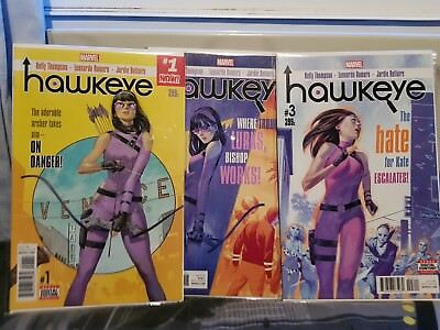 Marvel Complete Set of 16 Hawkeye Comics First Print Brand New! Mint Condition!