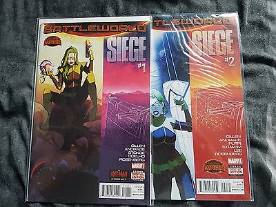 Marvel Complete Set of 4 Siege Comics First Print Brand New! Mint Condition!