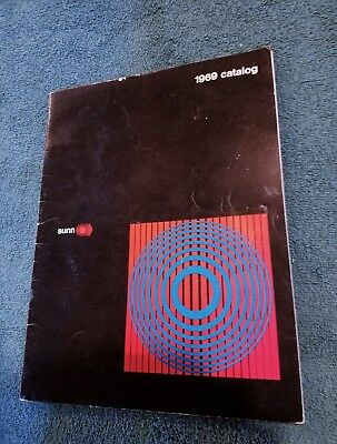 1969 SUNN Guitar and Bass Amplifier Catalog