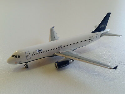 1:400 Gemini Jets JetBlue Airways Airbus A320-200 GJJBU197D N534JB Windowpane