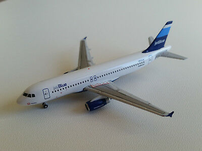 1:400 Gemini Jets JetBlue Airways Airbus A320-200 GJJBU197A N503JB Stripes