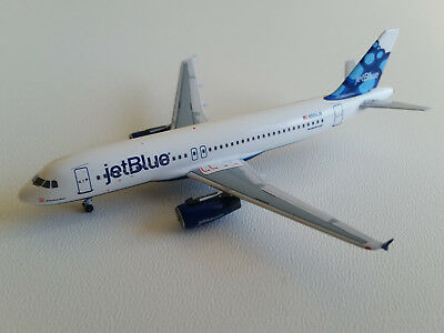 1:400 Velocity Models JetBlue Airways Airbus A320-200 VM0002 N564JB Blueberries